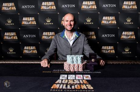 Daniel Laidlaw Bests a Star-Studded Final Table to Win Aussie Millions Event #25