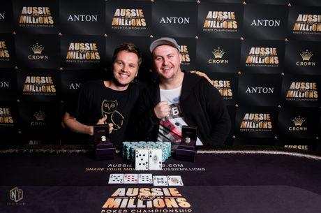 Jon Kyte and Daniel Smith Win Final Aussie Millions Event