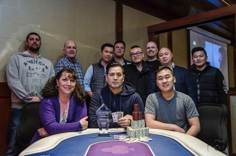 Johnny Yu is the 2018 Alberta Poker Champion