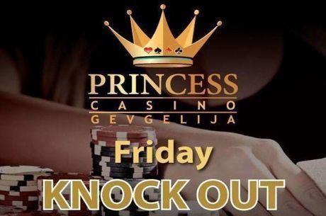 Το Knockout της Παρασκευής σήμερα στις 19:00 στο Princess με €60