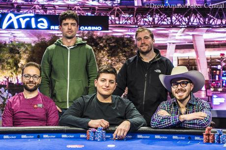 Tilston Lead US Poker Open Main Event Final Table, Negreanu Second