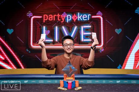 Chi Zhang wins partypoker LIVE MILLIONS Germany €50K Super High Roller