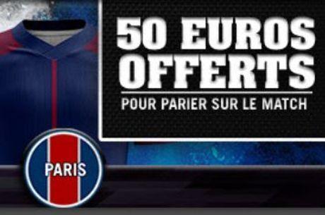 Winamax : Jusqu'à 50€ de paris gratuits sur #RealPSG