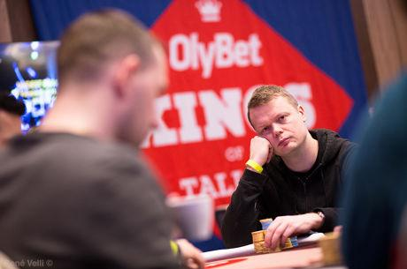 Juha Helppi Second in Chips at OlyBet Kings of Tallinn Final Table