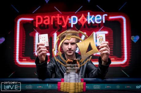 """Viktor """"Isildur1"""" Blom wint het partypoker LIVE MILLIONS Germany €5.300 Main Event voor €850.000!"""