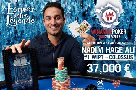WiPT Colossus : Hage Ali met tout le monde KO et transforme 200€ en 37.000€