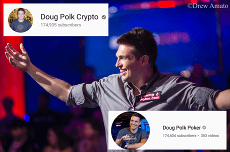 Doug Polk's Crypto YouTube Channel Passes His Poker Channel