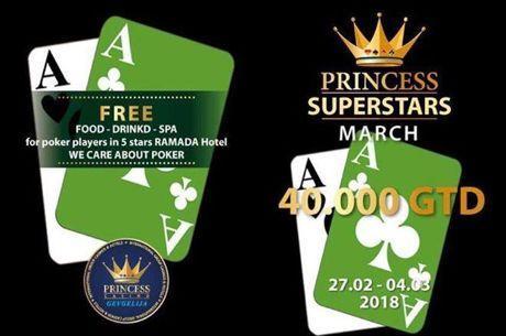 Princess SuperStars с €40,000 гарантирани от 27 фев. до 4 март в...