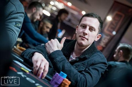 Morgan Leads partypoker LIVE UK Poker Championships