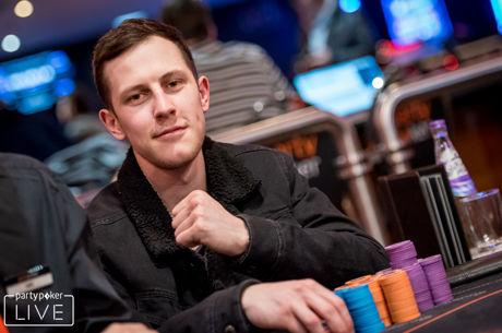 Daniel Morgan Still Leads partypoker LIVE UK Poker Championships