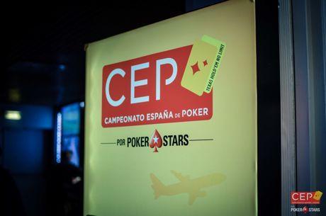 Gerard Plans subió al liderato del CEP por PokerStars Barcelona 2018