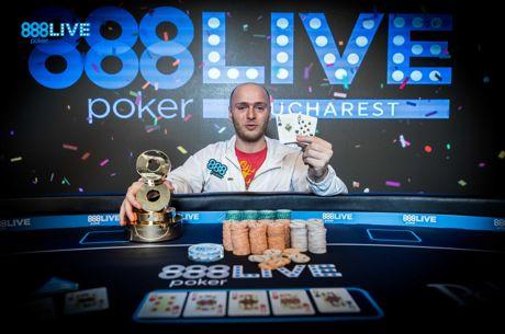 888poker LIVE Bucharest: Andrei Racolta Wins for €71,042