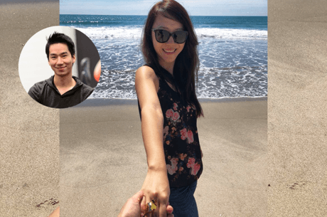 Team PokerStars Online Pros Randy Lew and Celina Lin Engaged