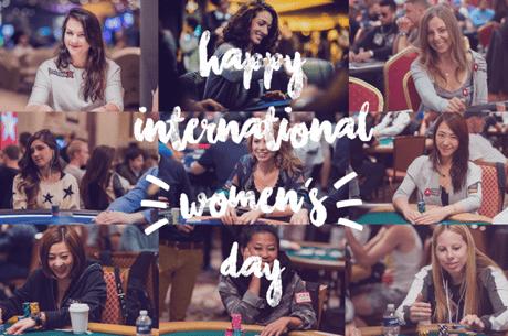 Female Poker Players Celebrate International Women's Day