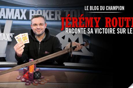 Blog : Jeremy Routier révèle toutes les mains de sa victoire sur le WiPT