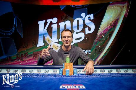 Pavel Binar holt das WSOPC €5,300 High Roller im King's
