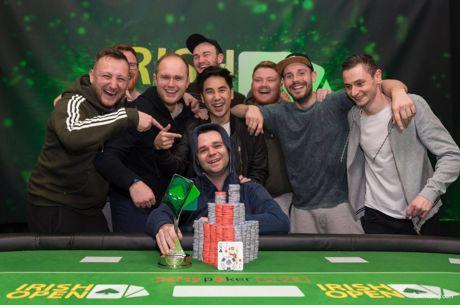 Ryan Mandara Wins the 2018 Irish Poker Open Main Event for €210,000