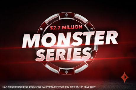 partypoker Announces the $2.7 Million Monster Series