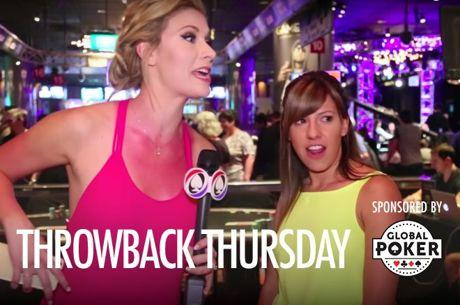 Throwback Thursday: Kristen Bicknell Focuses on Live Poker