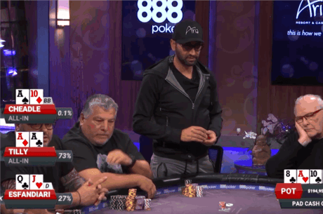 Poker After Dark: Antonio Esfandiari face un call stupid pentru un pot de 283.000$ [VIDEO]