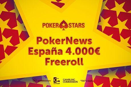 El domingo 25 vuelve nuestro torneo gratuito con 4.000€ garantizados