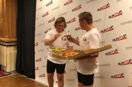 Gebroeders Staples winnen weddenschap en wegen beiden 85,4 kilo!