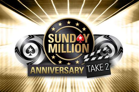 PokerStars doet nieuwe poging: vanavond de $10 Million Sunday Million Take 2