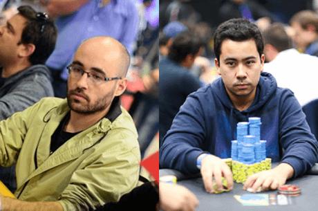 Luís Martins e Renato Nomura na Mesa Final do Big Tuesday Main Event-HR