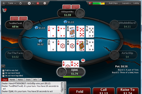 PokerStars testeaza public un nou format de poker: Split Hold'em