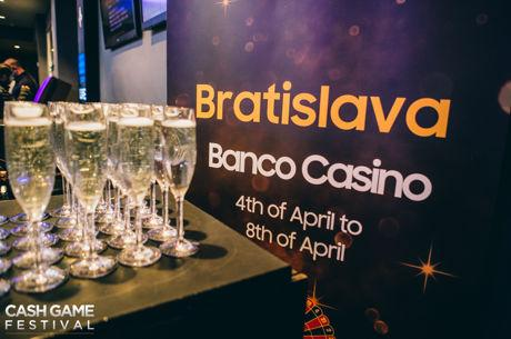 Das Cash Game Festival Bratislava startet am 4. April
