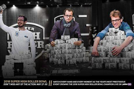 Countdown zum 2018 Super High Roller Bowl startet