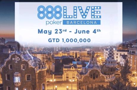 Un milion de dolari in premii garantate la 888poker LIVE Barcelona
