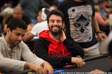 Luis Felipe Iotti Puxa Fila no Dia 1A do Main Event do BSOP Brasília