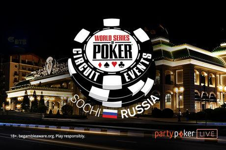 World Series of Poker Circuit Estreia na Rússia a 13 de Maio