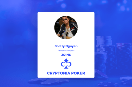 Cryptonia Poker, Un sponsor pour Scotty Nguyen