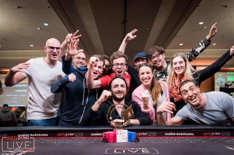 Davidi Kitai le gana la partida a Juan Pardo en el segundo Super High Roller del partypoker...