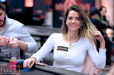 Dayane Kotoviezy 15ª no Open do partypoker MILLIONS (€9,000)