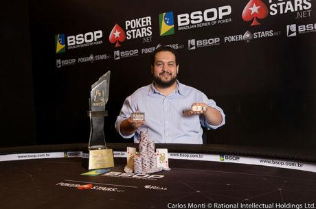 Marcelo Horta Conquista Main Event do BSOP Brasília (R$ 293.140)