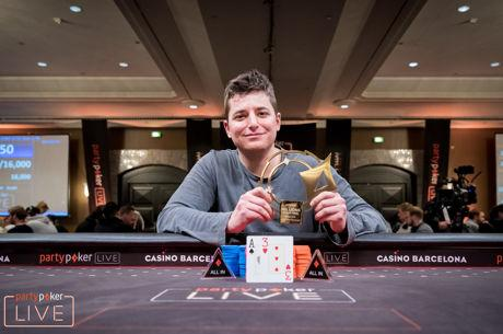 Schindler Wins partypoker LIVE MILLIONS Grand Final €100k for €1.75M