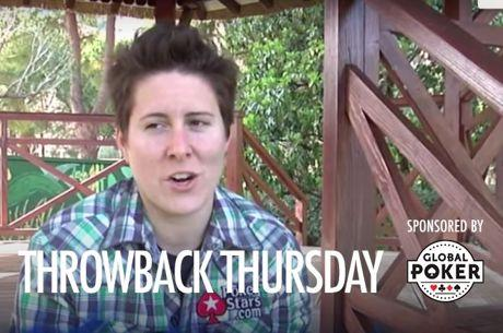 Throwback Thursday: Vanessa Selbst Starting her Pro Poker Career