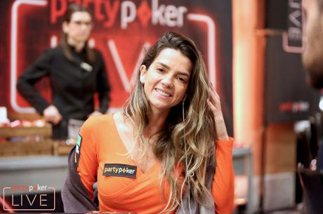 Dayane Kotoviezy no Dia 2 do High Roller do partypoker MILLIONS