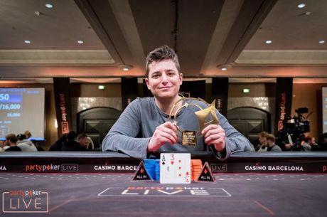 Jake Schindler do zmage in 1,75 milijonske nagrade na 100k SHR turnirju v Barceloni