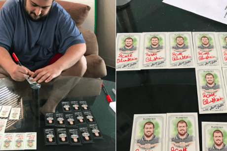 Card Collecting: WSOP Champ Blumstein Earns Topps Honor