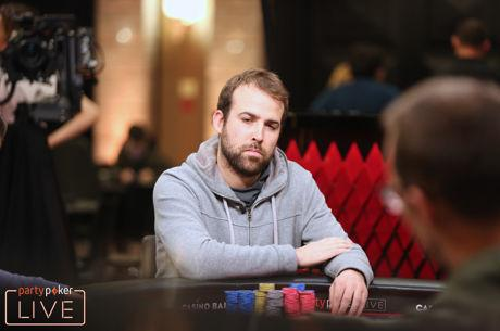 Pascal Lefrancois Leads partypoker LIVE MILLIONS Main Event Final Table
