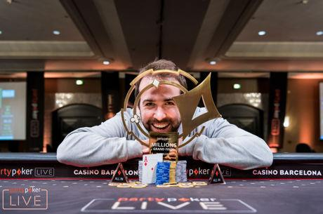 Pascal Lefrancois Wins partypoker LIVE MILLIONS Grand Final Barcelona