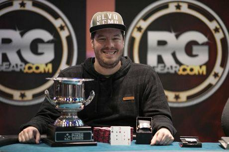 Grant Hinkle Wins RunGood Poker Series Downstream Main Event