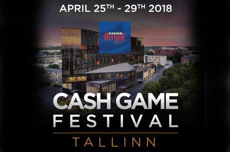 Cash Game Festival revine intre 25 si 29 aprilie in Tallinn, Estonia