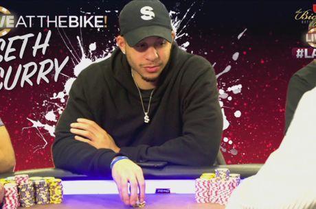 Três Sequências no Flop: Seth Curry Ganha Pote de $16,000