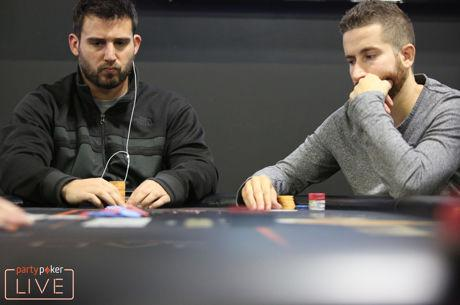 partypoker LIVE MILLIONS North America: Elias Leads $10H High Roller