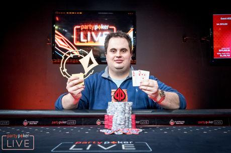 Christopher Kruk Wins the partypoker LIVE MILLIONS North America $25K